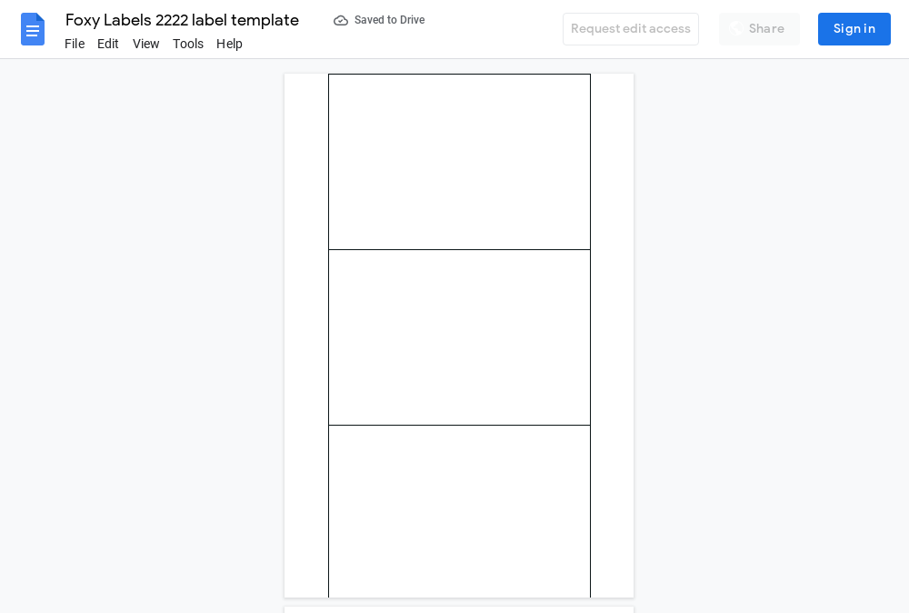 Avery 2222 Label Template